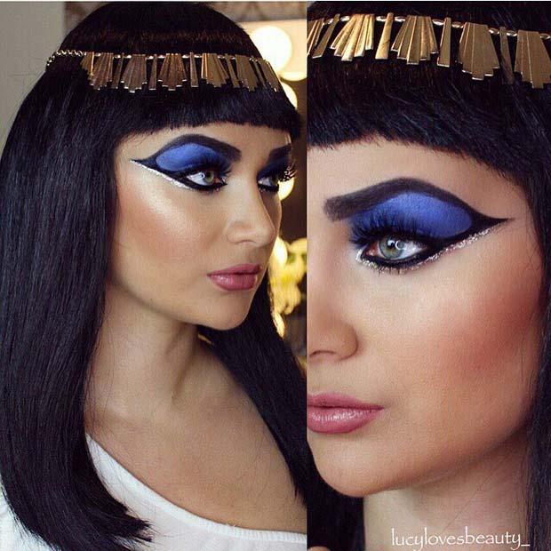 Elizabeth Taylor Inspired Cleopatra Makeup