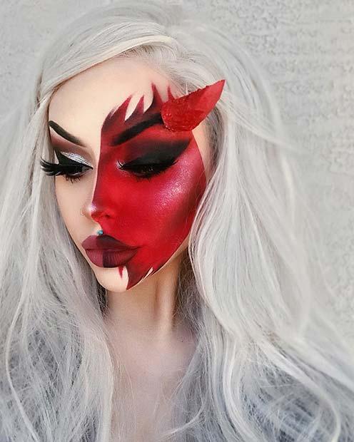 Fantasy Devil Makeup
