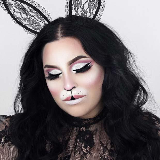 Glam Halloween Bunny