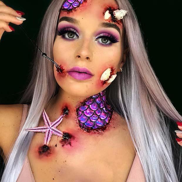 Gory Hooked Mermaid Idea