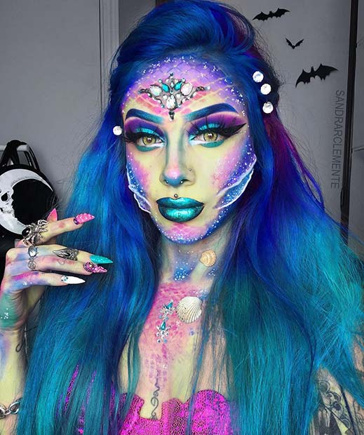 Mermazing Makeup with Gills