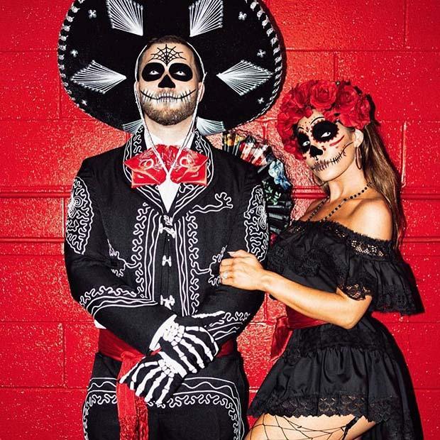 Mexican Sugar Skull Inspired Costumes