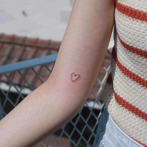 Small and Cute Heart Design
