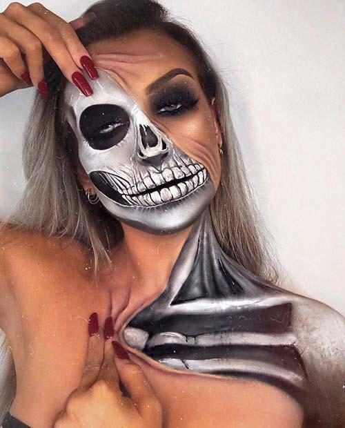 Spooky Illusion Makeup