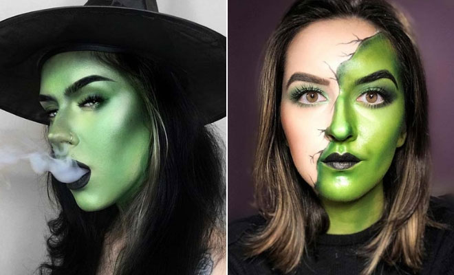 Witch Makeup Ideas for Halloween