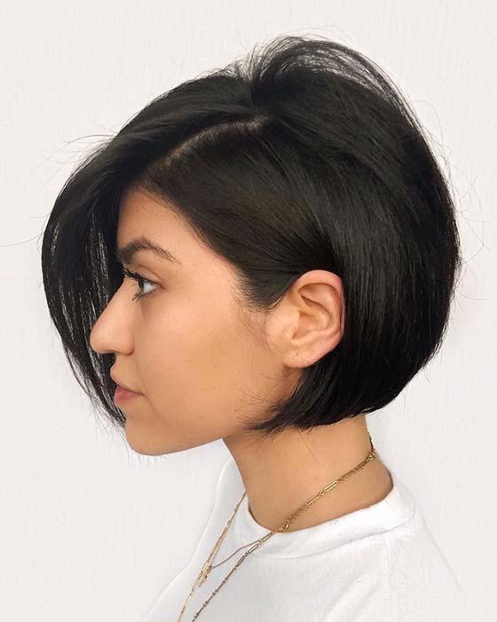 Beautiful Short Bob Hairstyle