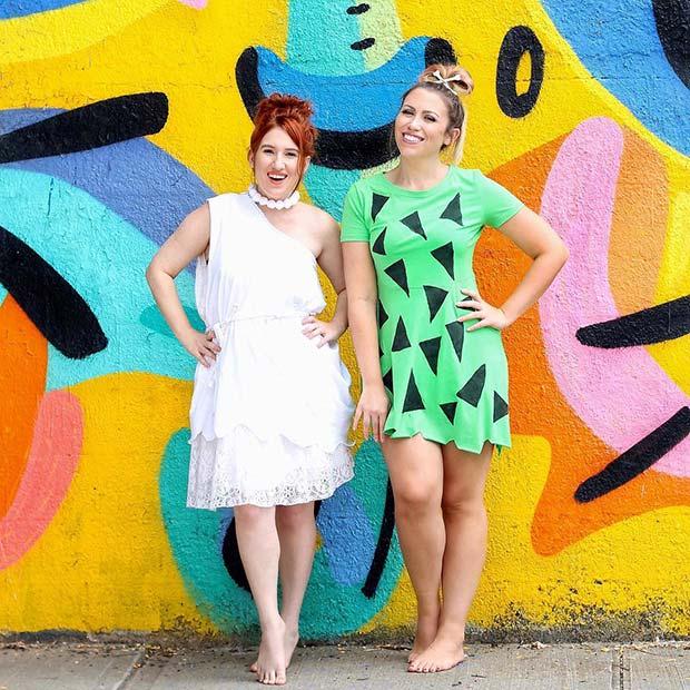 Flintstones Inspired Costume