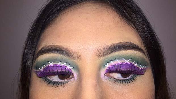 Halloween Inspired Eye Makeup.41 Stunning Halloween Eye Makeup Looks Page 2 Of 4 Stayglam
