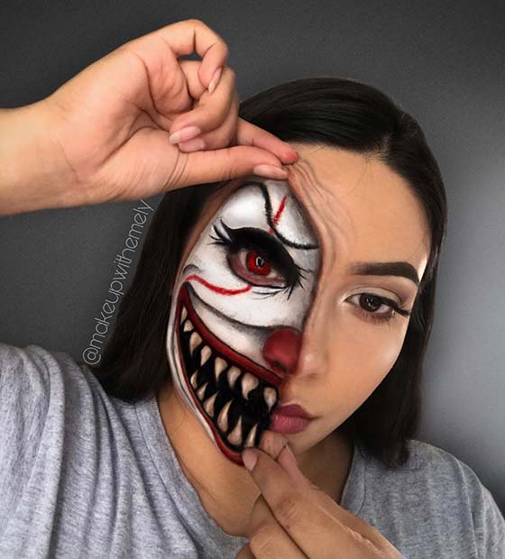 Frightening Illusion Makeup