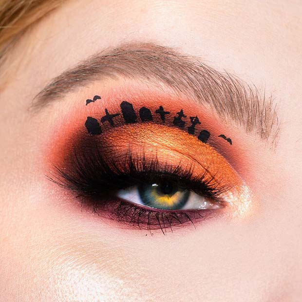 Gravestone Eye Makeup