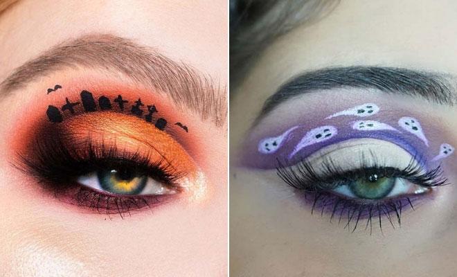 Halloween Inspired Eye Makeup.41 Stunning Halloween Eye Makeup Looks Stayglam