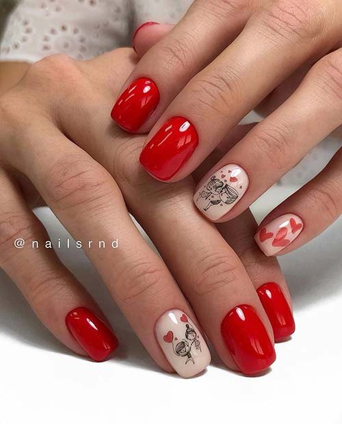 Love Inspired Nail Design