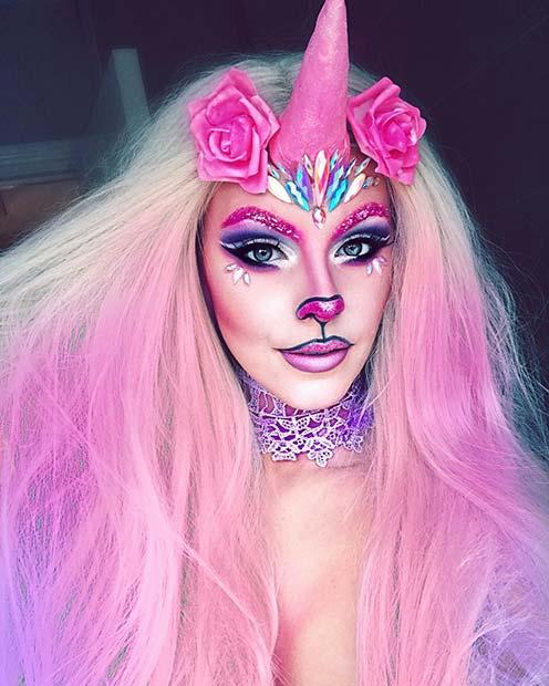 Magical Unicorn Makeup