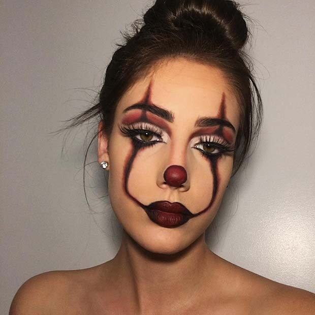 Pretty Pennywise Makeup