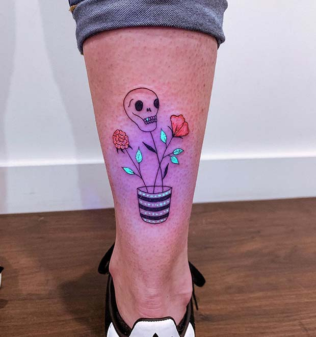 Quirky and Unique Design with a Skull