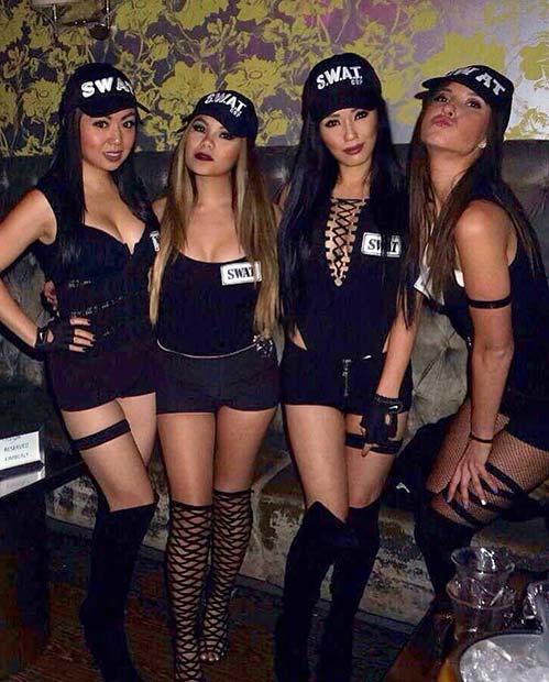 Sexy SWAT Team Costumes