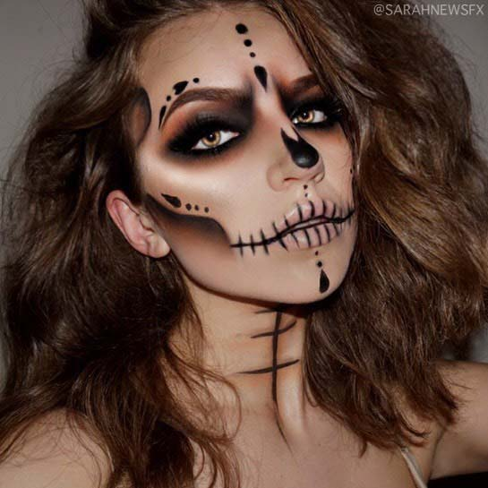 Simple and Spooky Makeup