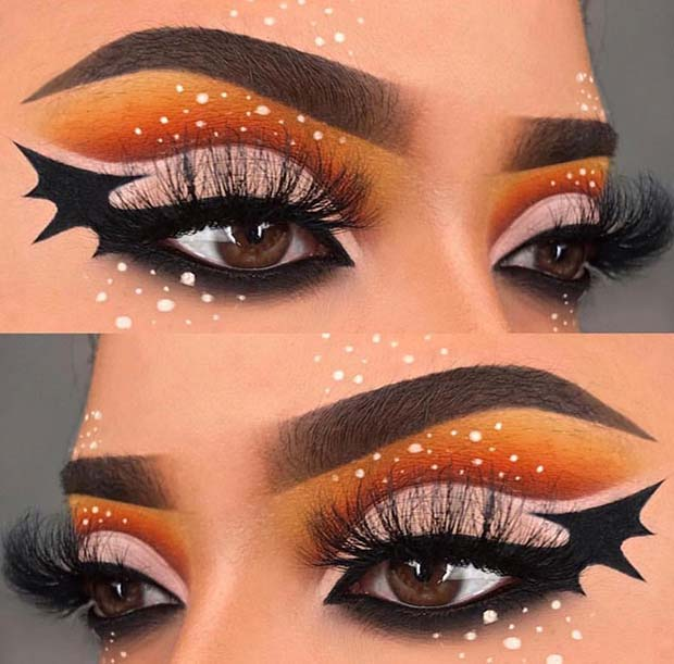 Cute Halloween Eye Makeup.41 Stunning Halloween Eye Makeup Looks Page 2 Of 4 Stayglam