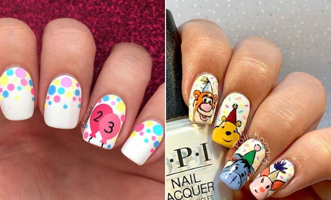 41 Super Cute Birthday Nails You Have To Try Stayglam