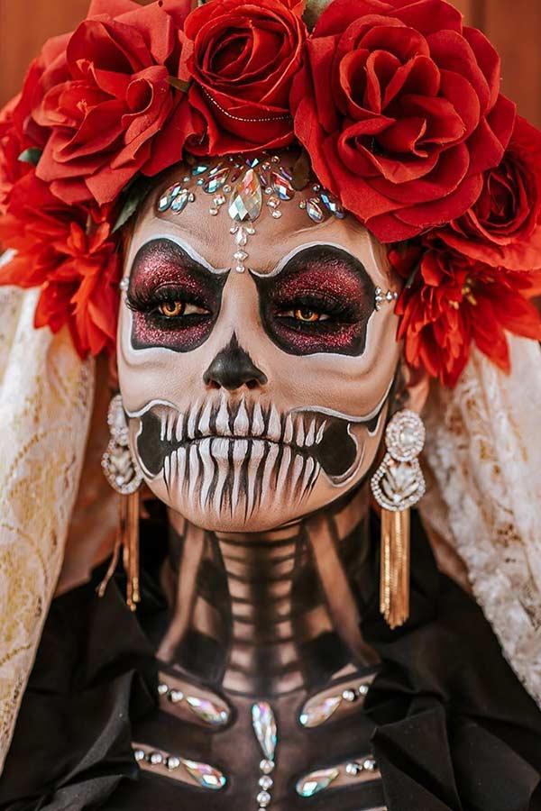Traditional Sugar Skull Look