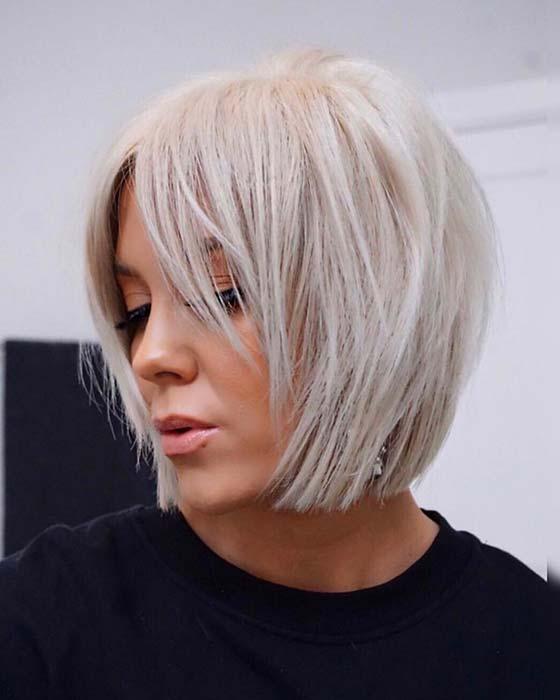 Trendy and Sleek Bob Haircut