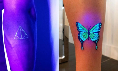 UV Tattoo Ideas for Women