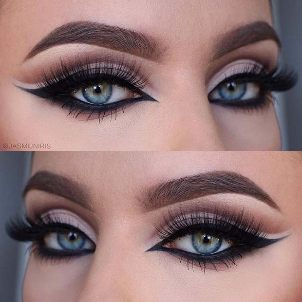 Bold Eye Makeup with a Feline Flick