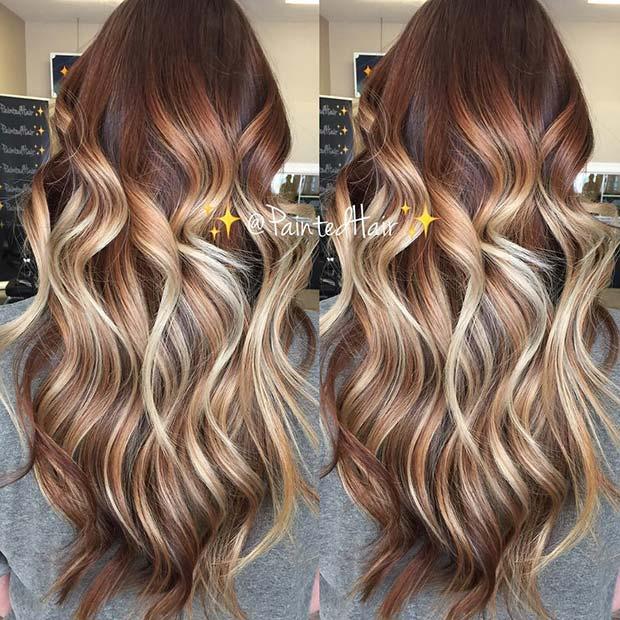 Bright Blonde Hair Idea