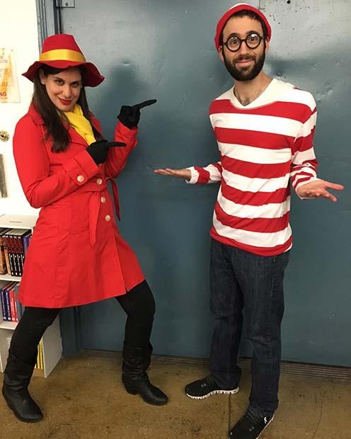 Carmen Sandiego and Where's Wally