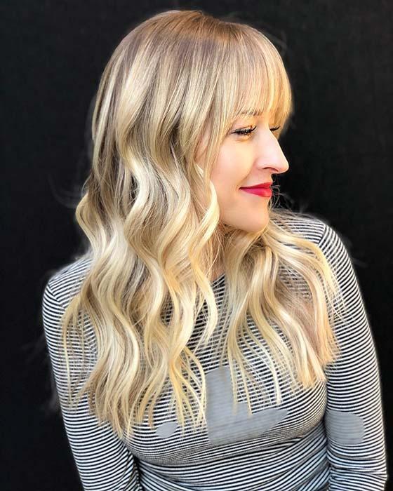 Chic Blonde Hair Idea
