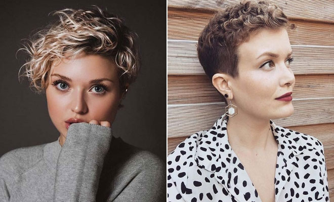 Swell 21 Best Curly Pixie Cut Hairstyles Of 2019 Stayglam Schematic Wiring Diagrams Amerangerunnerswayorg