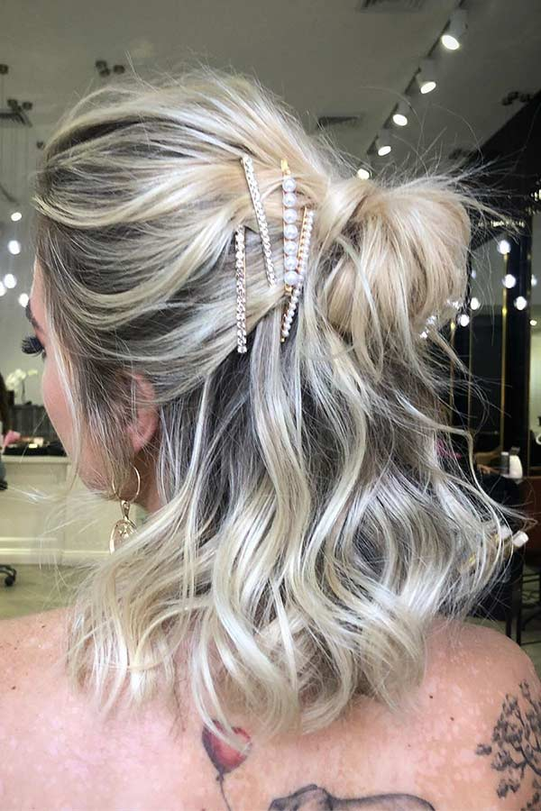 25 Trendy Prom Hairstyles For Short Hair Page 2 Of 2