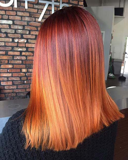Ginger Color for the Fall