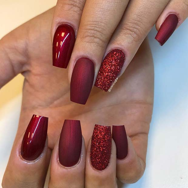 71 Christmas Nail Art Designs \u0026 Ideas for 2019