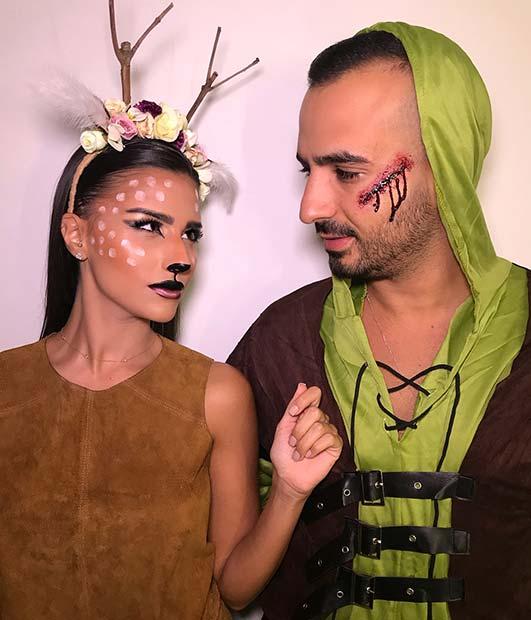 Huntsman and the Deer