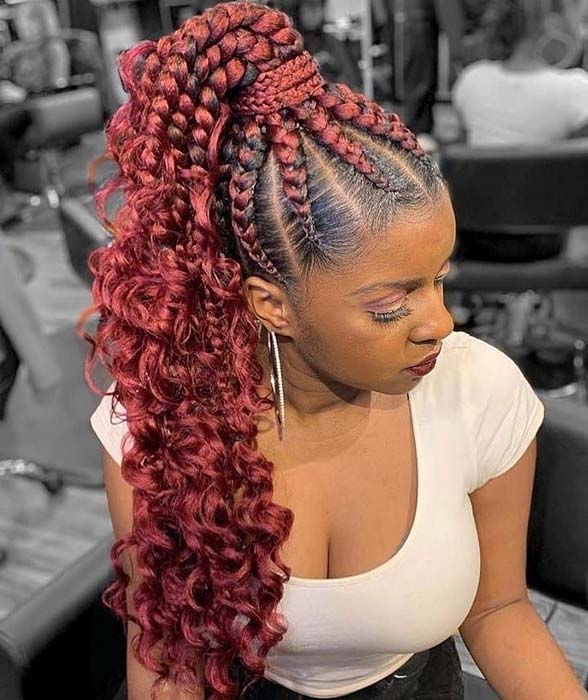 43 Most Beautiful Cornrow Braids That Turn Heads Page 2