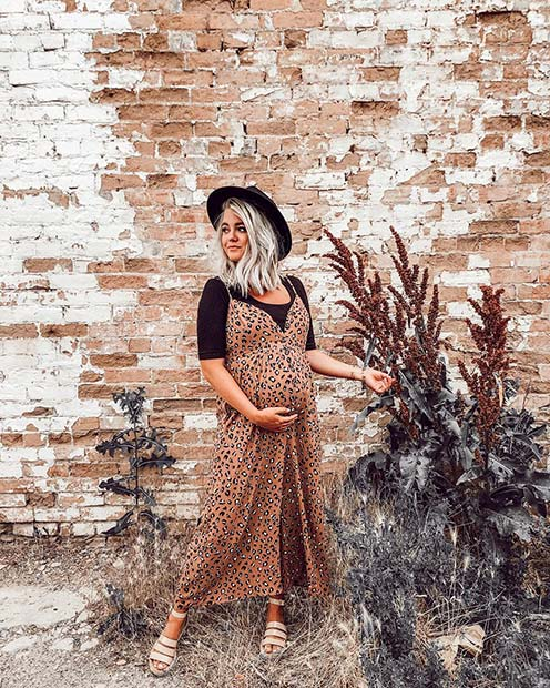 Long-Dress-and-T-Shirt