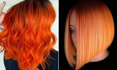 Orange Hair Color Ideas