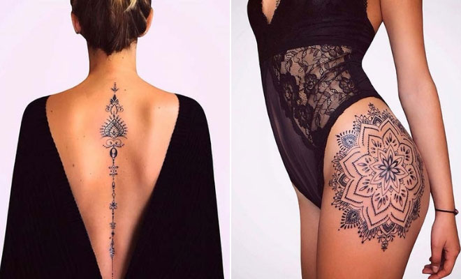 43 Sexy Tattoos For Women Youll Want To Copy Stayglam