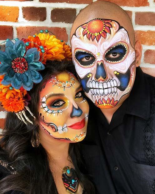 Spooky Sugar Skulls
