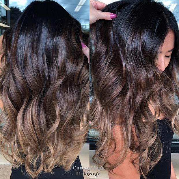 Stunning Brunette Hair Blend