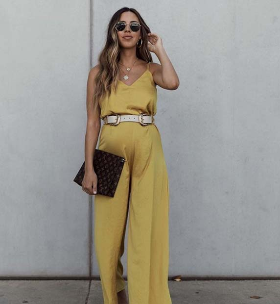 Summery and Glam Jumpsuit