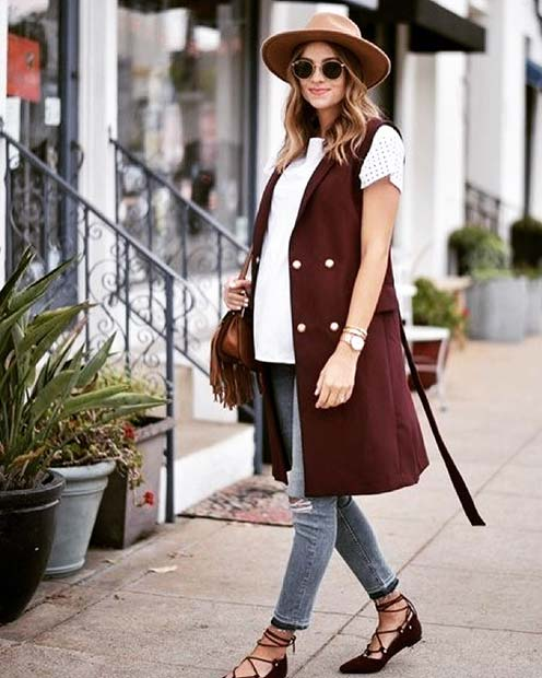 Trendy-Outfit-Idea-for-Pregnancy