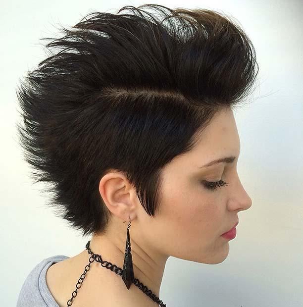 Edgy Short Hair Idea