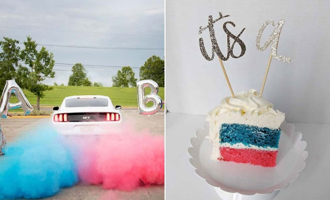Twin Gender Reveal Ideas