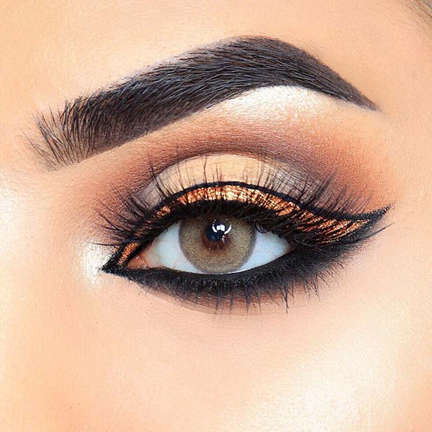 Unique Eye Makeup for the Fall