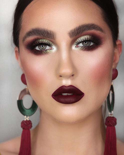 Vampy Makeup for the Fall