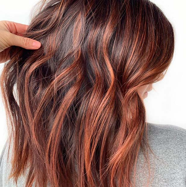 Warm Coppery Highlights