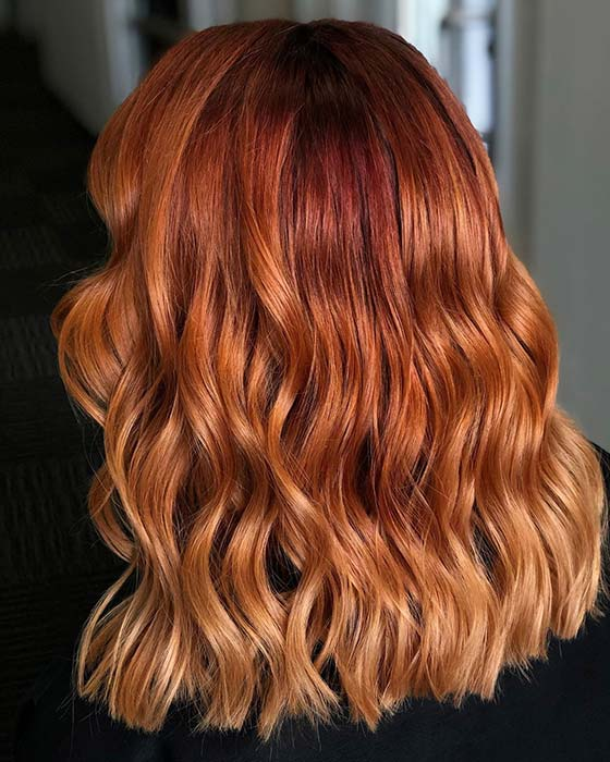 Warm Orange Hair
