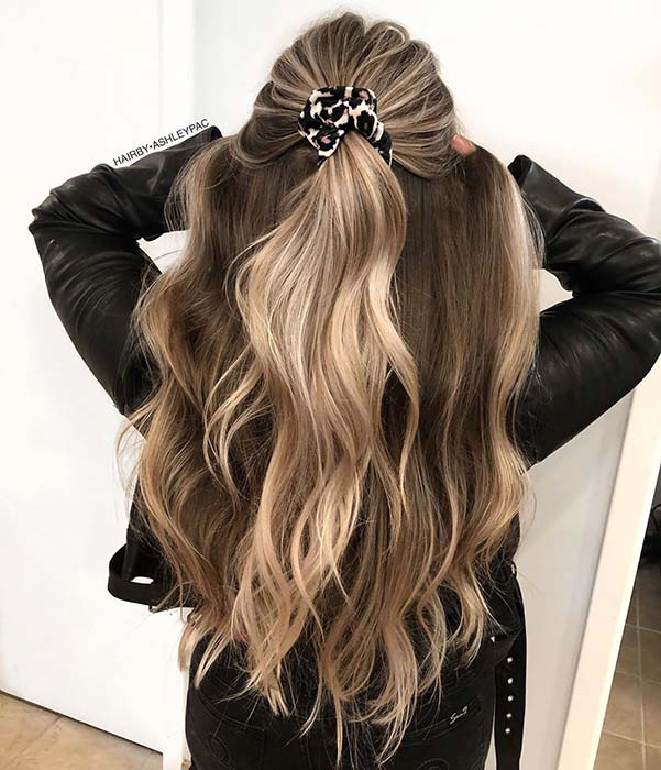 Beautiful Light Blonde and Brown Color